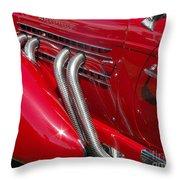 Auburn Speedster Throw Pillow