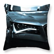 Audi A8 Throw Pillow