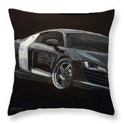 Audi Le Mans Throw Pillow