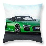 Audi R-8 Spyder Throw Pillow