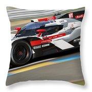 Audi R18 E-tron, Le Mans - 11 Throw Pillow