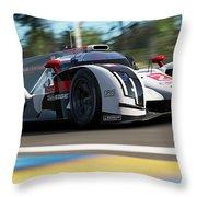 Audi R18 E-tron, Le Mans - 14 Throw Pillow