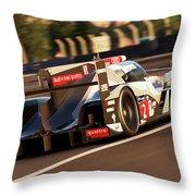Audi R18 E-tron, Le Mans - 18 Throw Pillow