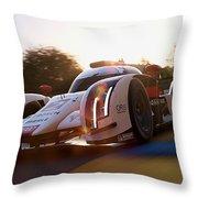 Audi R18 E-tron, Le Mans - 21 Throw Pillow