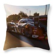 Audi R18 E-tron, Le Mans - 24  Throw Pillow
