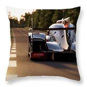 Audi R18 E-tron, Le Mans - 25 Throw Pillow