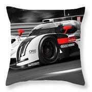 Audi R18 E-tron, Le Mans - 31 Throw Pillow