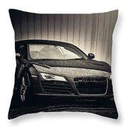 Audi R8 Throw Pillow