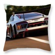 Audi R8 Lms - 05 Throw Pillow