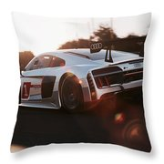 Audi R8 Lms - 08 Throw Pillow