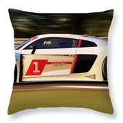 Audi R8 Lms - 15 Throw Pillow