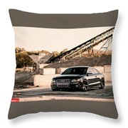 Audi S5 Throw Pillow