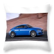 Audi Tt Throw Pillow