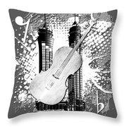 Audio Graphics 1 Throw Pillow