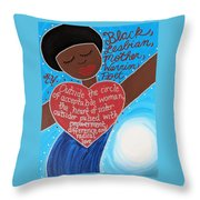 Audre Lorde Throw Pillow