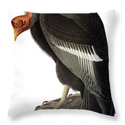 Audubon: Condor Throw Pillow