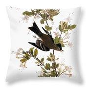 Audubon: Pewee, 1827-38 Throw Pillow