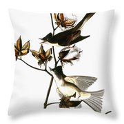 Audubon: Phoebe Throw Pillow