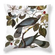 Audubon: Pigeon Throw Pillow