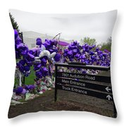 Audubon Road Throw Pillow