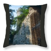 Auerbach Tower And Gate Throw Pillow