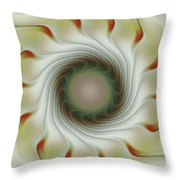 Auger Wheel Spin Throw Pillow