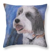 Augie Throw Pillow