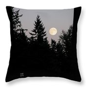 August Full Moon - 2 Throw Pillow