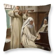 August Wilhelm Roesler Throw Pillow