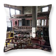 Augusta Car Rehab Throw Pillow