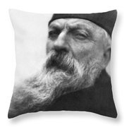 Auguste Rodin (1840-1917) Throw Pillow