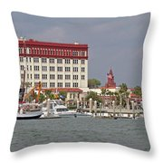 Augustine For Ben Throw Pillow