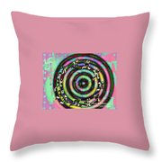 Aum 42 Throw Pillow