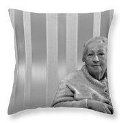 Aunt Hanneh Throw Pillow