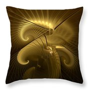 Aureate-1 Throw Pillow