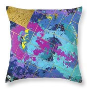 Auric Squared Throw Pillow