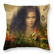 Aurora Throw Pillow by Andre Pillay