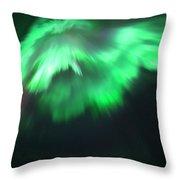 Aurora Angel Throw Pillow