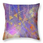 Aurora Aperture Throw Pillow