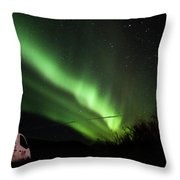 Aurora Borealis - 3 Throw Pillow