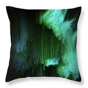 Aurora Borealis Throw Pillow