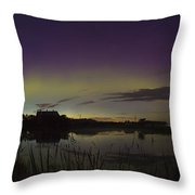 Aurora Panorama Throw Pillow