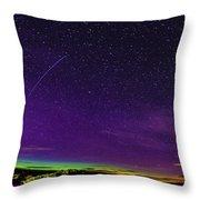 Aurora Panorama Throw Pillow