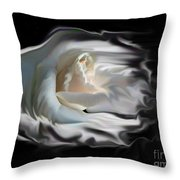 Aurora Rosealis Throw Pillow