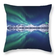 Aurora Square Throw Pillow
