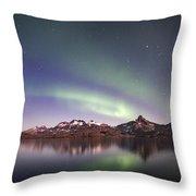 Aurora Tasiilaq Greenland 7279 Throw Pillow