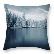 Ausable River 9420 Throw Pillow