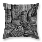 Ausgedient 2 Throw Pillow