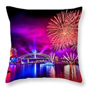 Aussie Celebrations Throw Pillow