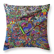 Aussie Culture Throw Pillow